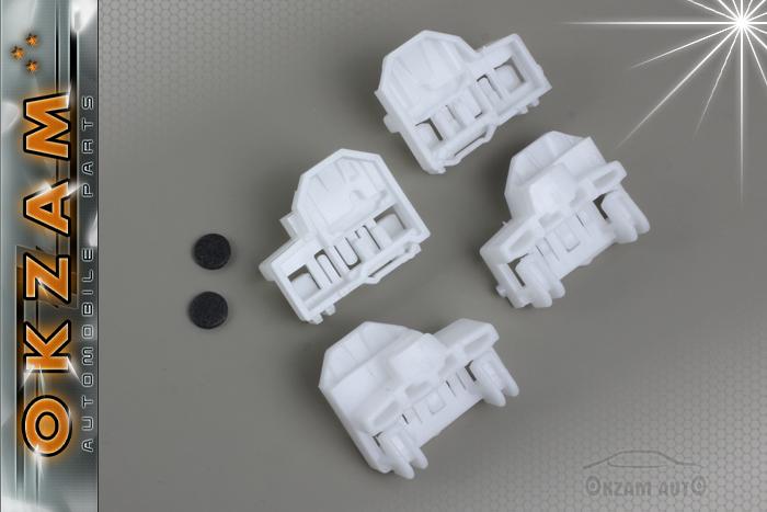 Seat arosa window regulator repair clip front left right for 1999 vw passat window regulator clips